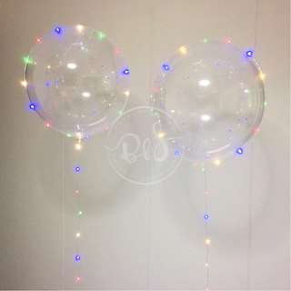 24-inch LED Bubble Balloons