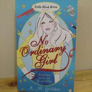 [NOVEL IMPORT] No Ordinary Girl - A.M. Goldsher - Little Black Dress