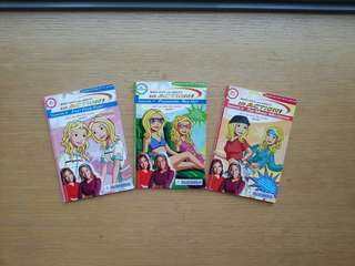 Full color Mary-Kate & Ashley books