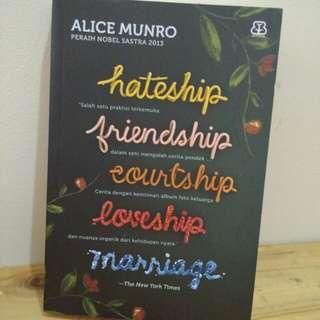 [NOVEL TERJEMAHAN] Hateship, Friendship, Courtship, Loveship, Marriage - Alice Munro - Bentang Pustaka