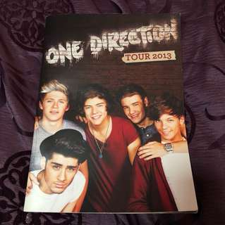 1d tour book