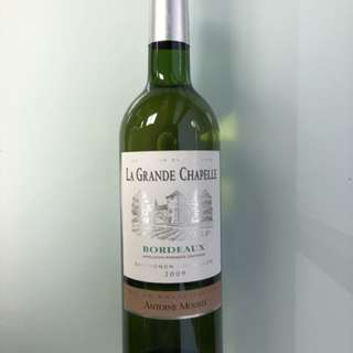 White Wine - Antoine Moueix La Grande Chapelle Blanc 2009