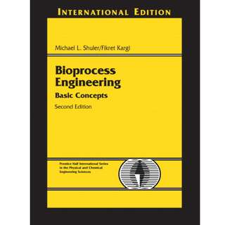 Bioprocess Engineering: Basic Concepts (2nd Edition)