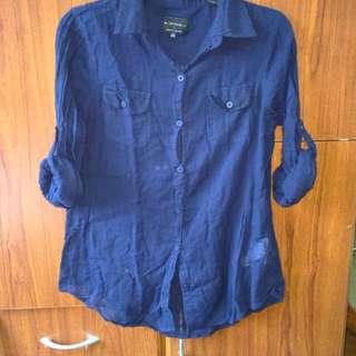 Sheer LS blouse
