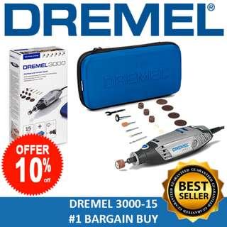 [#1 Best Seller] DREMEL 3000-15 Rotary Tool Grinder New