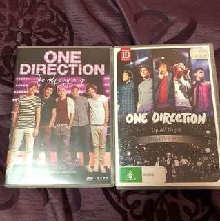 1d DVD's