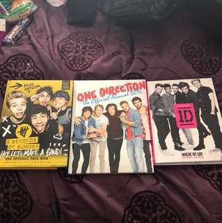 1d and 5sos books