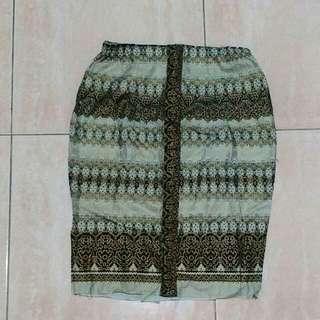 Batik skirt (rok)