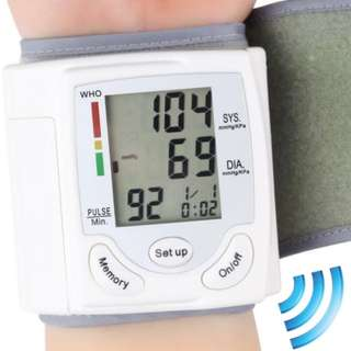 [NEW] Blood Pressure Heart Rate Monitor