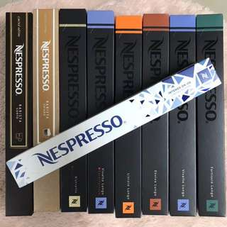 NESPRESSO coffee capsule 咖啡囊 intenso on ice