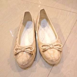 Faux snakeskin shoes 21 cm for young girls