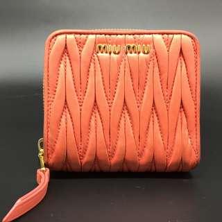 Miu Miu Short wallet -  Miu Miu 銀包