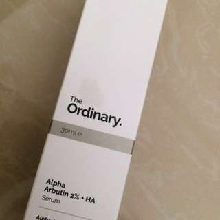 The Ordinary Alpha Arbutin 2% + HA [Share in Bottle]
