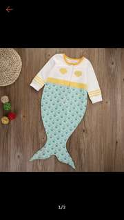 Baby mermaid Sleeping Blankie