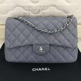 Chanel classic jumbo amethyst color