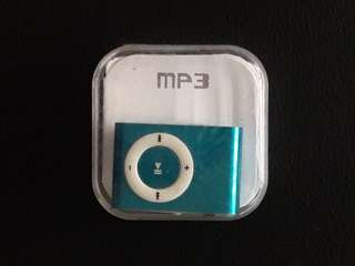 Blue MP3 Multimedia Player