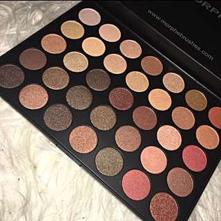 Brand new Morphe 350 Shimmer nature glow eyeshadow palette