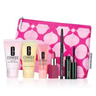 CLINIQUE cosmetic 7-piece travel sets