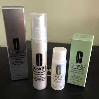 Brand New Clinique Serum & Essence Lotion Samples