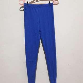 Leging/lejing cotton on blue/biru