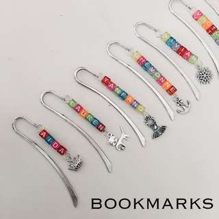 customised bookmarks
