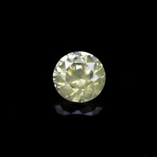 0.02ct Natural Unheated Yellow Diamond