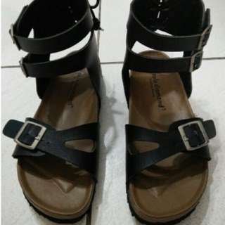 高筒羅馬涼鞋