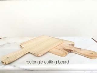 Rectangle Cutting Board / Talenan