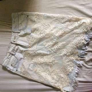 High waist pencil skirt