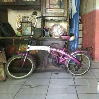 Sepeda bekas masih bagus bisa di pake