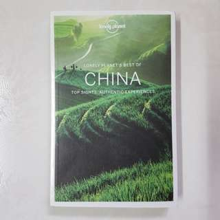 BRAND NEW Lonely Planet Best Of China