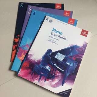 Piano Grade 6 Book / Exam Pieces