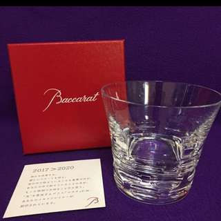 Baccarat 2017 全新高貴水晶威士忌杯 洒杯 圓波款一隻