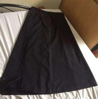 High waist maxi long skirt