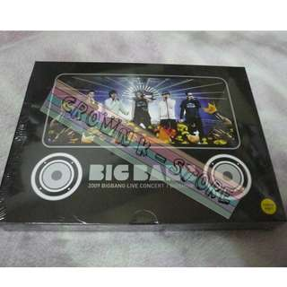 [LAST 1][CRAZY DEAL 80% OFF FROM ORIGINAL PRICE][READY STOCK]BIGBANG KOREA 2009 CONCERT DVD (NO POSTER) SEALED! NEW! OFFICIAL ORIGINAL FROM KOREA (PRICE NOT INCLUDE POSTAGE)PLEASE READ DETAILS FOR MORE INFO