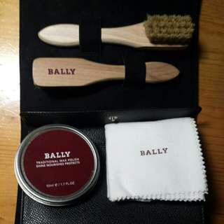 BALLY 皮套連擦鞋套裝 Leather Case with Shoe Cleaning Kit