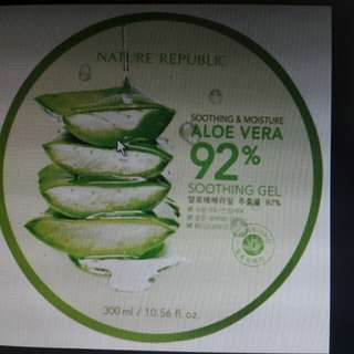 Aloe vera-Nature Republic
