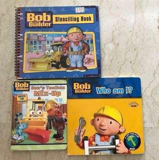FAST DEAL!!!! 3books Bob the builder books
