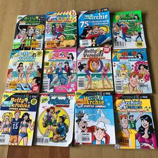 Archie Comics (16 books)