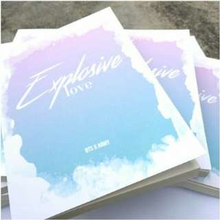 BTS Explosive Love Poem Book