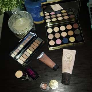 1 week only! Makeup clearance cheap eyeshadow palettes, blush palette, illuminator, matte lipstick, foundation highlighter makeup
