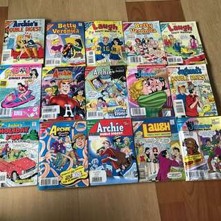 Archie Comics (15 books)