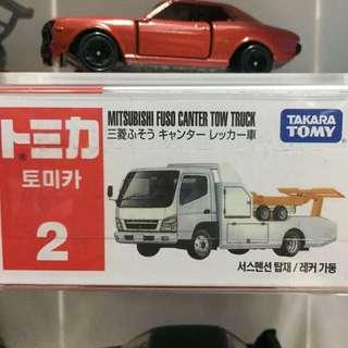 tomica 韓版 白拖車 no.2