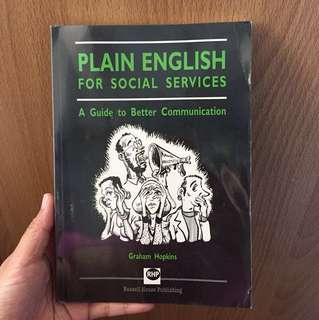 Plain English for Social Services | A Guide to  Better Communication