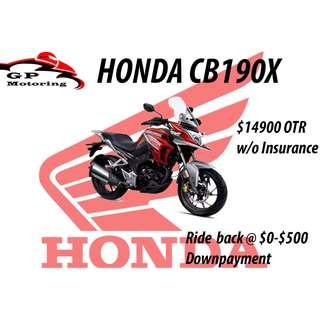 Honda CB190X Tourism