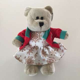 Starbucks Bearista Bear Christmas Collection