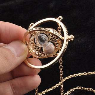 RESTOCK: Hermione's Time Turner Necklace