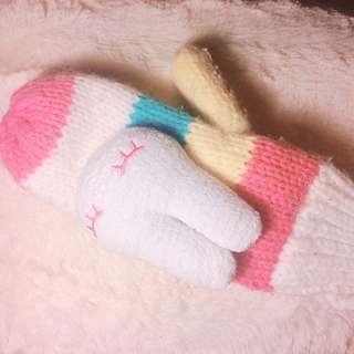 Cute& warm gloves
