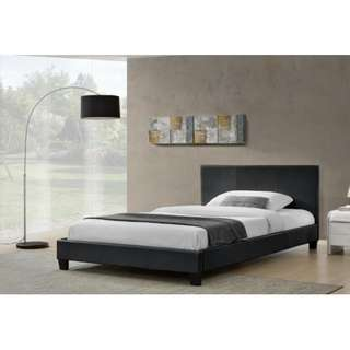 Brand new PU leather bed in Double/Queen