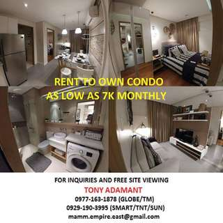Condo for Sale as low as 7k monthly (Pre-selling and RFO)